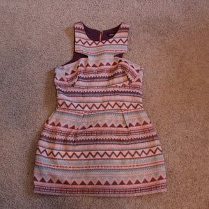 Aztec Pattern Dress